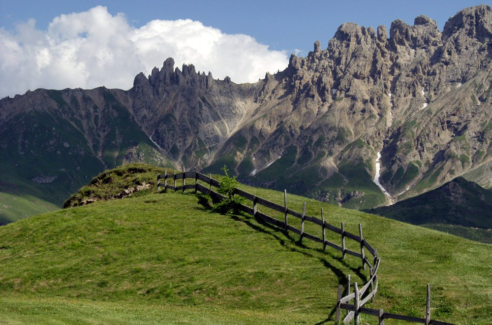 Into the heart of the Dolomites