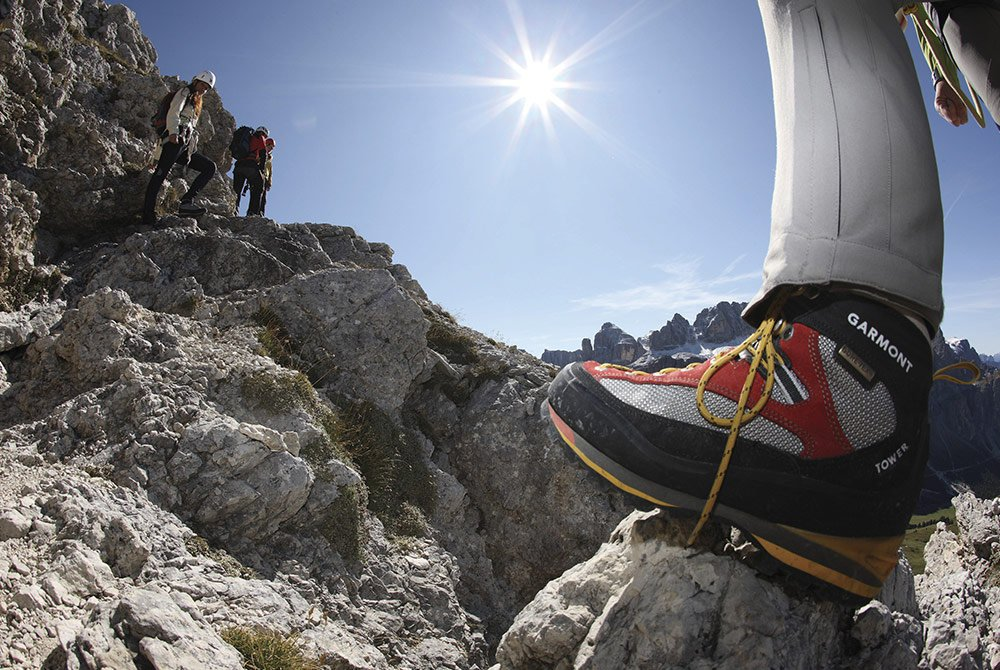 Reach the sky: climbing holidays in the Dolomites