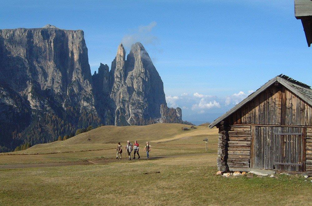 Bis die Sohlen glühen – Wanderferien in den Dolomiten