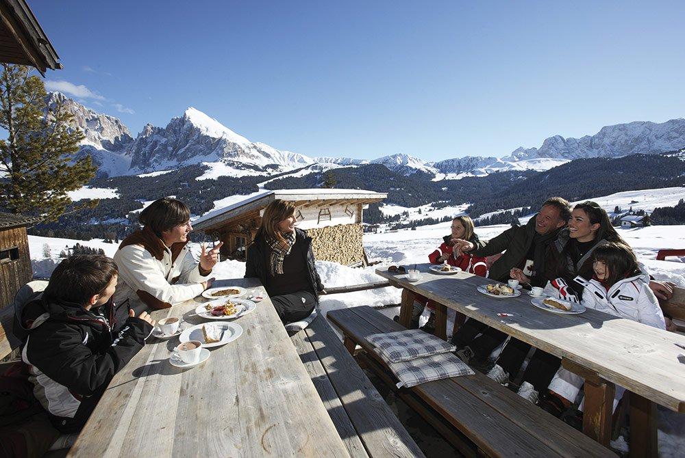 Piste, tracciati, percorsi ... settimane bianche sull'Alpe di Siusi